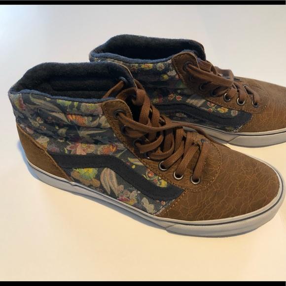 Vans Shoes   Vans Womens Floral High